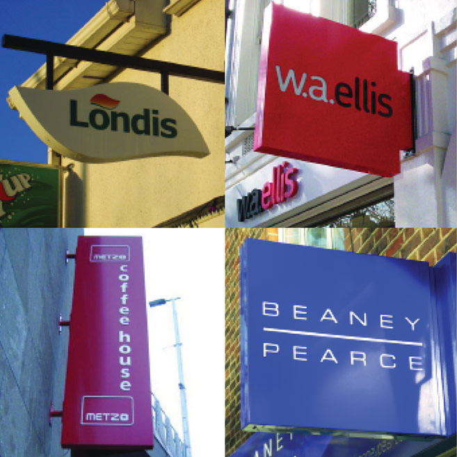 Rood Signs Fabricated Projecting Signage in Aberdeen
