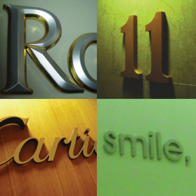 Rood Signs Flat Cut MDF Lettering Signage In Aberdeen