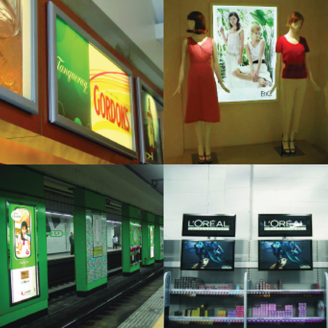 Rood Signs LED Display Case Signage in Aberdeen