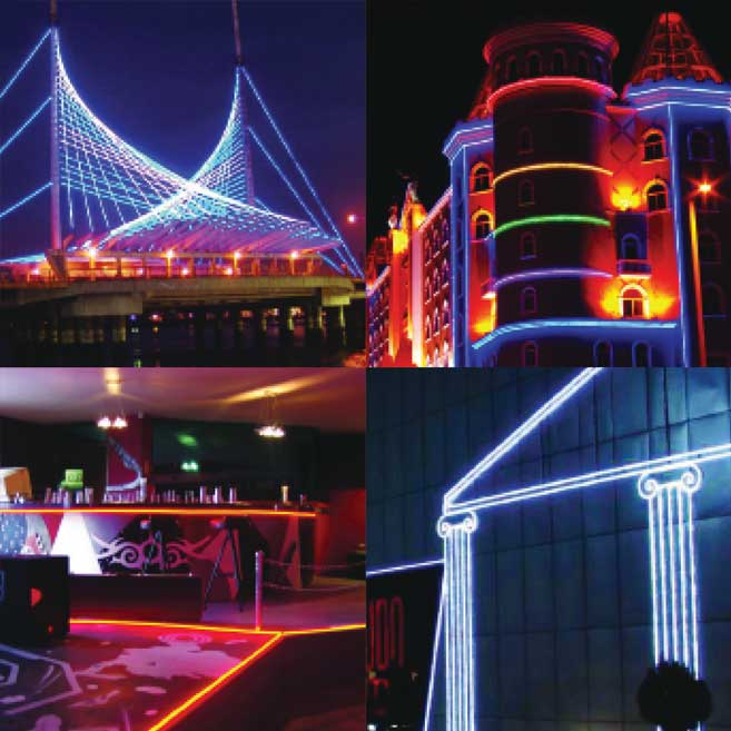 Rood Signs Neon Flex LED Lighting In Aberdeen