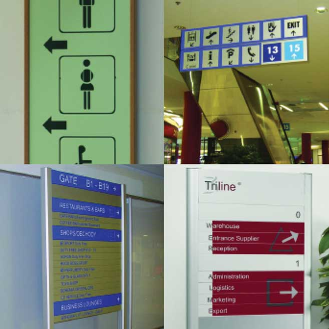 Rood Signs Digital Screen Directory System Signage In Aberdeen