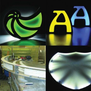 Rood-Signs Domino Flex Horizontal LED Lighting In Aberdeen