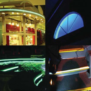 Rood Signs Electroluminescence Tape LED Lighting In Aberdeen