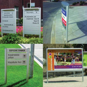 Rood Signs Fabricated Post Signs in Aberdeen