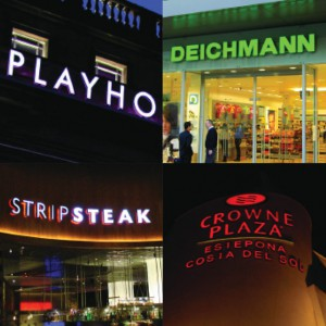 Rood Signs Face LED Illuminated Lettering Signage in Aberdeen