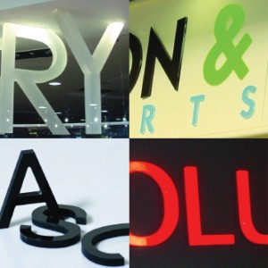 Rood Signs Flat Cut Acrylic Lettering Signage In Aberdeen