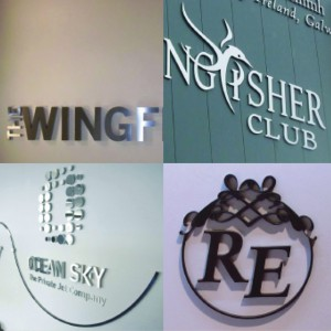 Rood Signs Flat Cut Metal Lettering Signage In Aberdeen