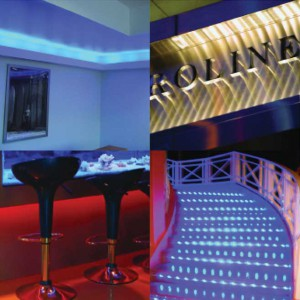 Rood Signs LED Linear Ribbon Flex Lighting In Aberdeen