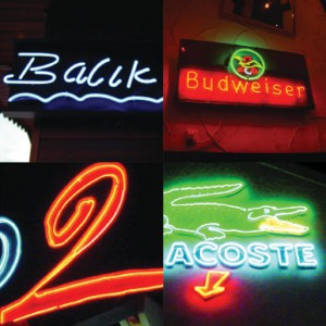 Rood Signs Neon Illuminated Lettering Signage in Aberdeen