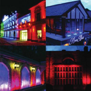 Rood Signs Vivid Wash LED Lighting In Aberdeen